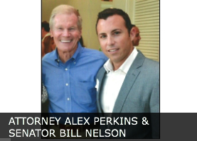 alex and senator Bill Nelson